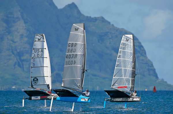Foiling: Moths Worlds 2012