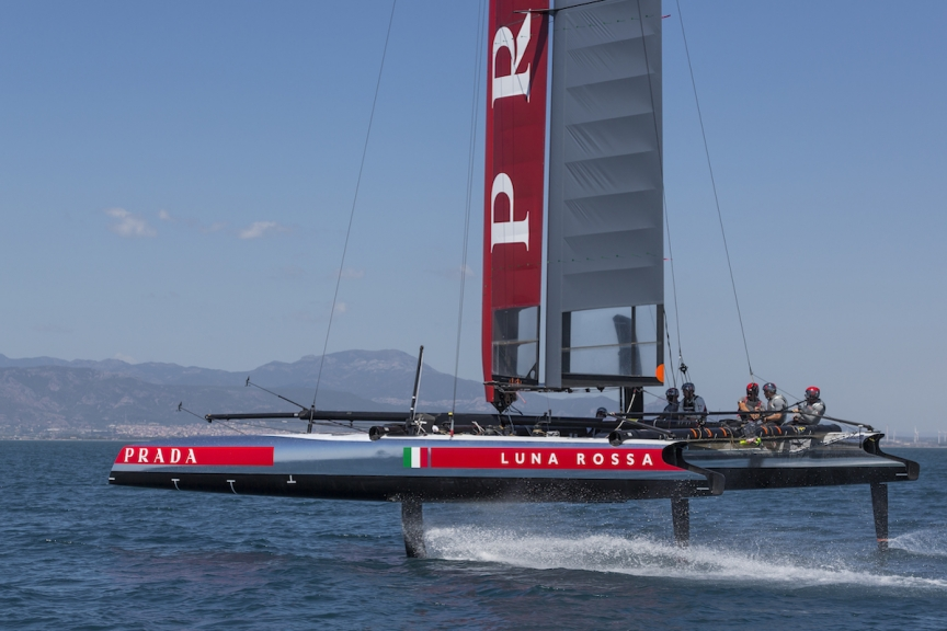 Luna Rossa modified AC45