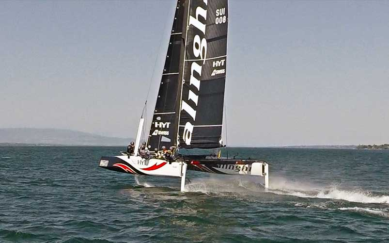 alinghi speed record