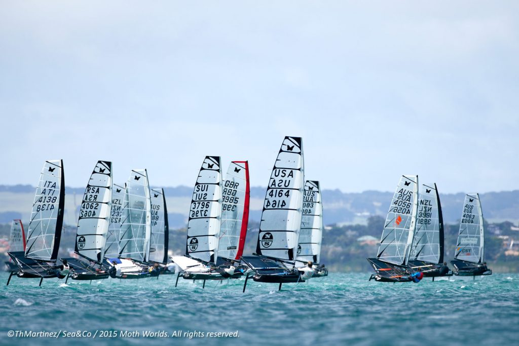 Who Is Going To Win The Moth Worlds 2017 Part 1 Foiling Week