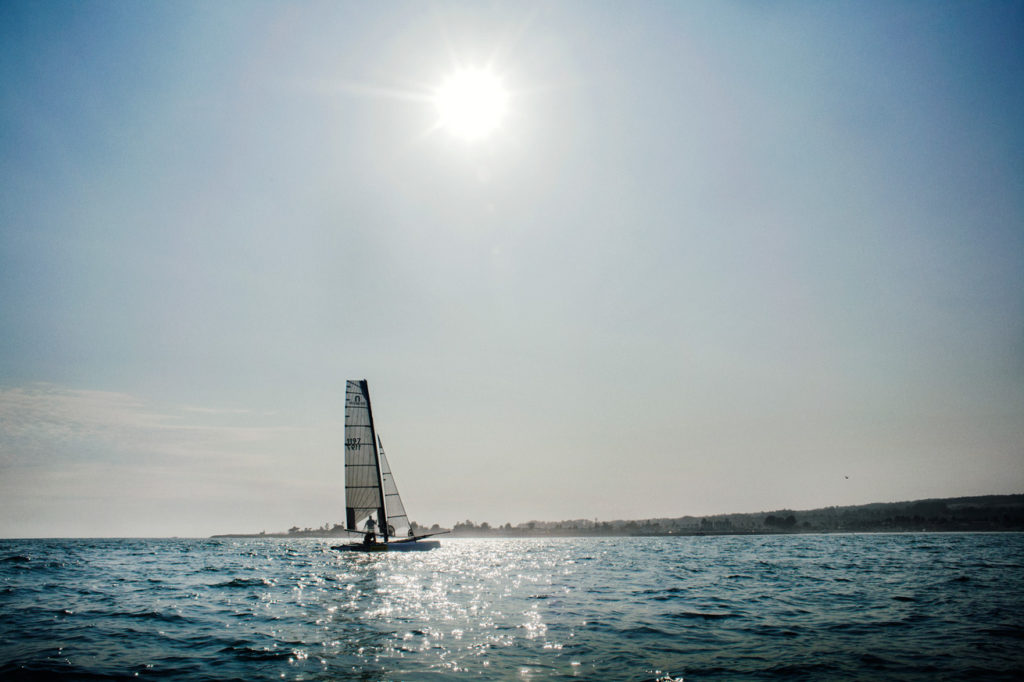 the Philippe Kahn modified Nacra 20