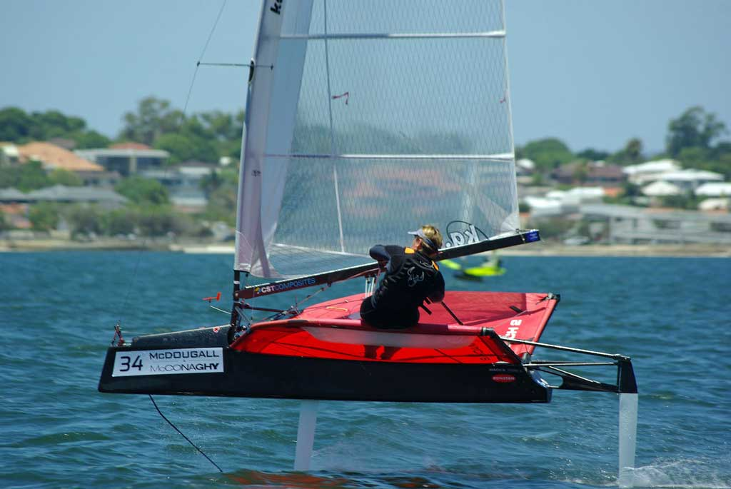 Emma Jane Spiers. Image by Rick Steuart of Perth Sailing Photography